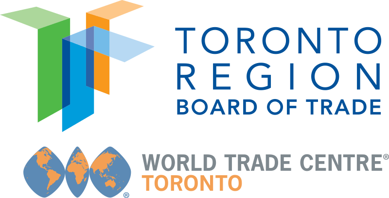 Toronto Region Board of Trade and the World Trade Centre Toronto logos