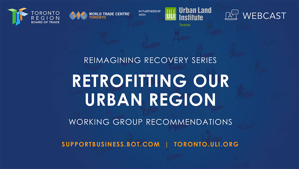 Retrofitting Our Urban Region - Working Group Recommendations Banner