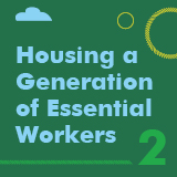 Housing a generation of essential workers banner