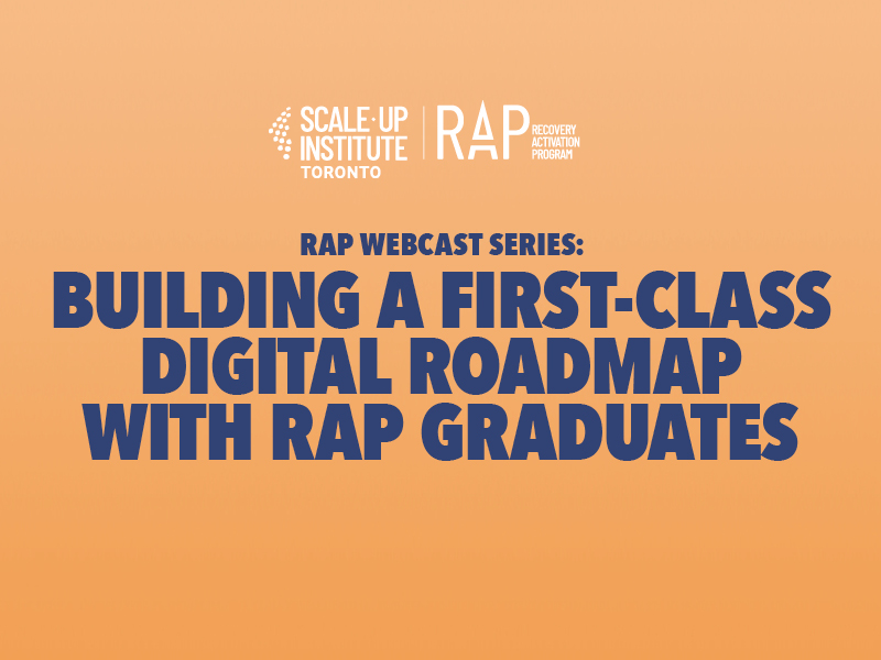 RAP Webcast 9: Building a First-Class Digital Roadmap with RAP Graduates Banner
