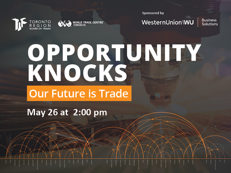 Opportunity Knocks: Our Future is Trade Image